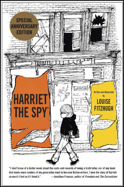 Harriet the Spy, anniversary edition cover