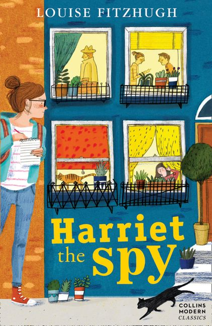 Harriet the Spy, modern style cover