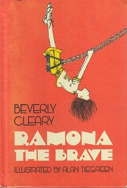 Ramona the Brave, cover by Alan Tiegreen