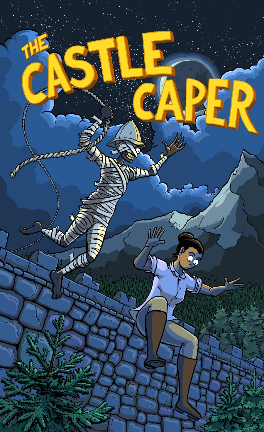Cover for Monty the Mummy: The Castle Caper